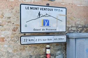 Bord Mont Ventoux